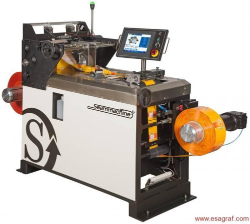 Selladora para shrink sleeves Seammachine Jr. de Stanford